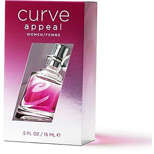 Curve Appeal Eau de Toilette Spray for Women, 0.5 (Curve Vanilla Eau De Toilette)