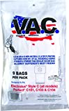 VACUUM AMERICA CLEAN VAC 15 PERFECT C101/C103, ELECTROLUX Canister Type C H-10 HEPA Filtration (Pack of 9)