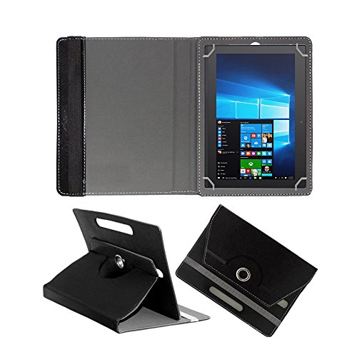 Fastway 360 Degree Rotating Tablet Book Cover for Lenovo Miix 320 10 #34;  Black