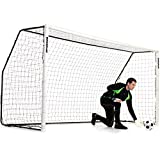 QUICKPLAY Fold-Away Soccer Goal Range | Match Standard Soccer Goals