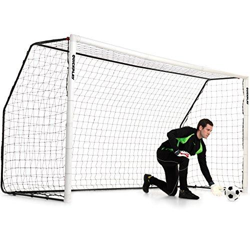 QUICKPLAY Fold-Away Soccer Goal Range   Match Standard Soccer Goals