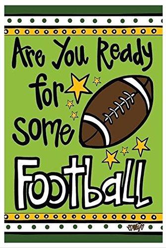 Magnolia Lane Are You Ready For Some Football Garden Flag