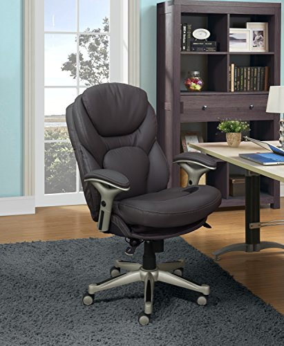 Serta Works Ergonomic Executive Office Chair with Back in Mo