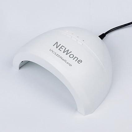 Lámpara De Uñas LED UV 3 Tipos Temporizador Secador De Uñas ProfesionalSecador De Uñas Con Temporizador