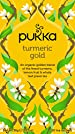 Pukka Turmeric Gold Herbal Tea Bags, 20 Count, 1.8 Grams