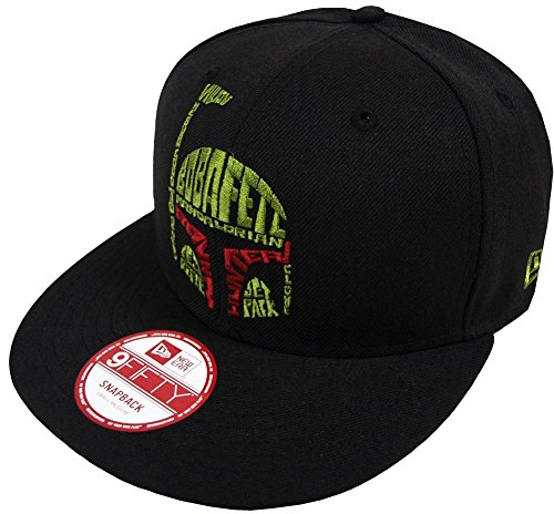New Era Boba Fett Word Snapback Cap 9fifty Special Limited Edition Star Wars Black