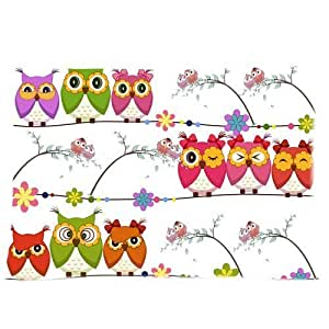 Custom Owl Pillowcase Standard Size 20*30 Design Cotton Pillow Case by runtopwell