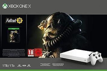 Xbox One X - Consola 1 TB, Edición Fallout, Blanco: Amazon.es ...
