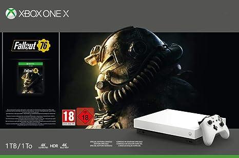 Xbox One X - Consola 1 TB, Edición Fallout, Blanco: Amazon.es: Videojuegos