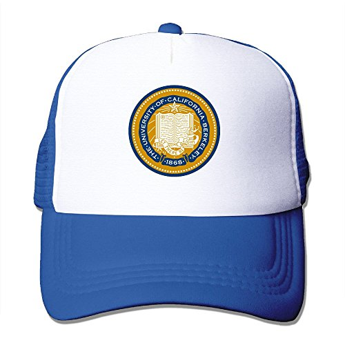 MZONE Unisex Mesh Caps UCB University Hip Hop Caps Hat RoyalBlue