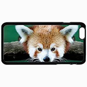 Customized Cellphone Case Back Cover For iPhone 6 Plus, Protective Hardshell Case Personalized Design Small Panda Branch Andrew Piotrowski Black