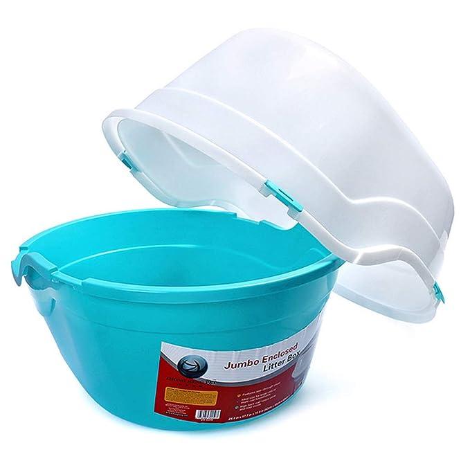 ... Gato Camada Bandeja Plegable Fácil Cuenco Grande para Chapoteo Prueba Grasa Caja Bentonita Limpieza Baño (Color : D): Amazon.es: Productos para mascotas