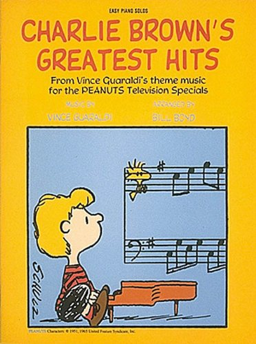 Charlie Brown's Greatest Hits (Easy Piano (Linus And Lucy Piano Music)