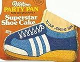 Wilton Superstar Running Tennis Golf Basketball Skate Rollerblade Hiking Boot Shoe Cake Pan (502-1964, 1979) Retired