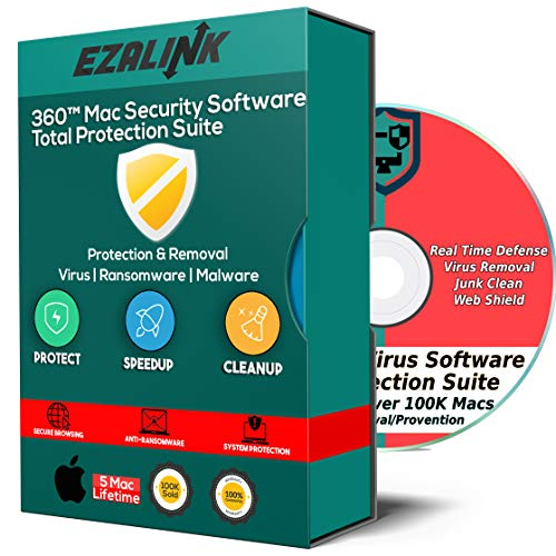 Mac Antivirus Security Software 2018 for MacBook & iMac Internet OS Virus Malware Spyware Protection Removal Cleaner Firewall