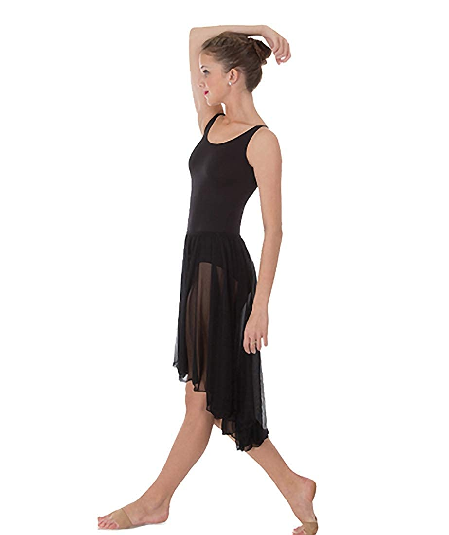 Body Wrappers Adult Hi-Lo Pull On Skirt 989