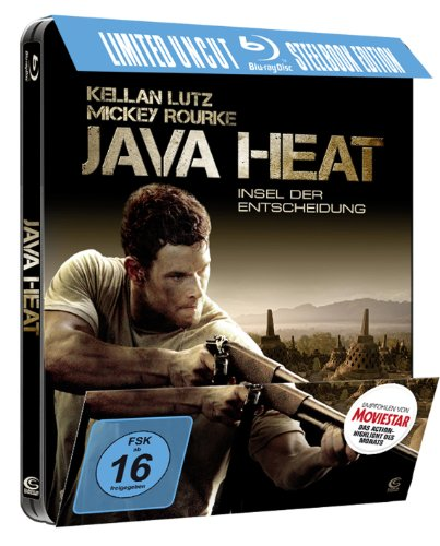 Java Heat German Limited Uncut Steelbook Edition Region B