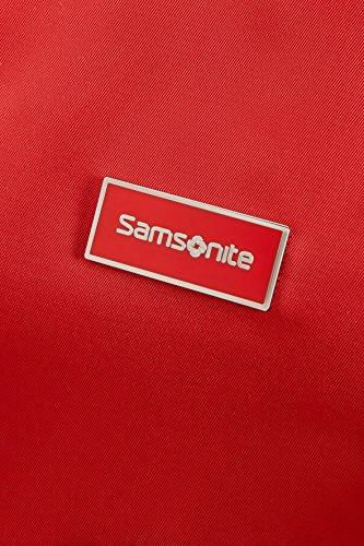 Samsonite Karissa - Sac de plage M, 38 cm, noir (noir) Formula Red