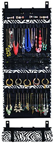 Costumes To Find In Your Closet (Donna Walsh, The Ultimate Jewelry Scroll - Hanging Storage Organizer - Rolls Up For Travel - 50