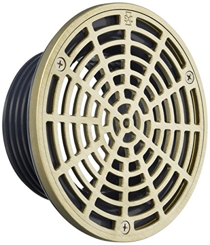 """Soux Chief 832-4HNR Finish Line Adjustable Floor Drain Schlage 40 Hub Connection, 6 1/2"""" well-wreapped"""