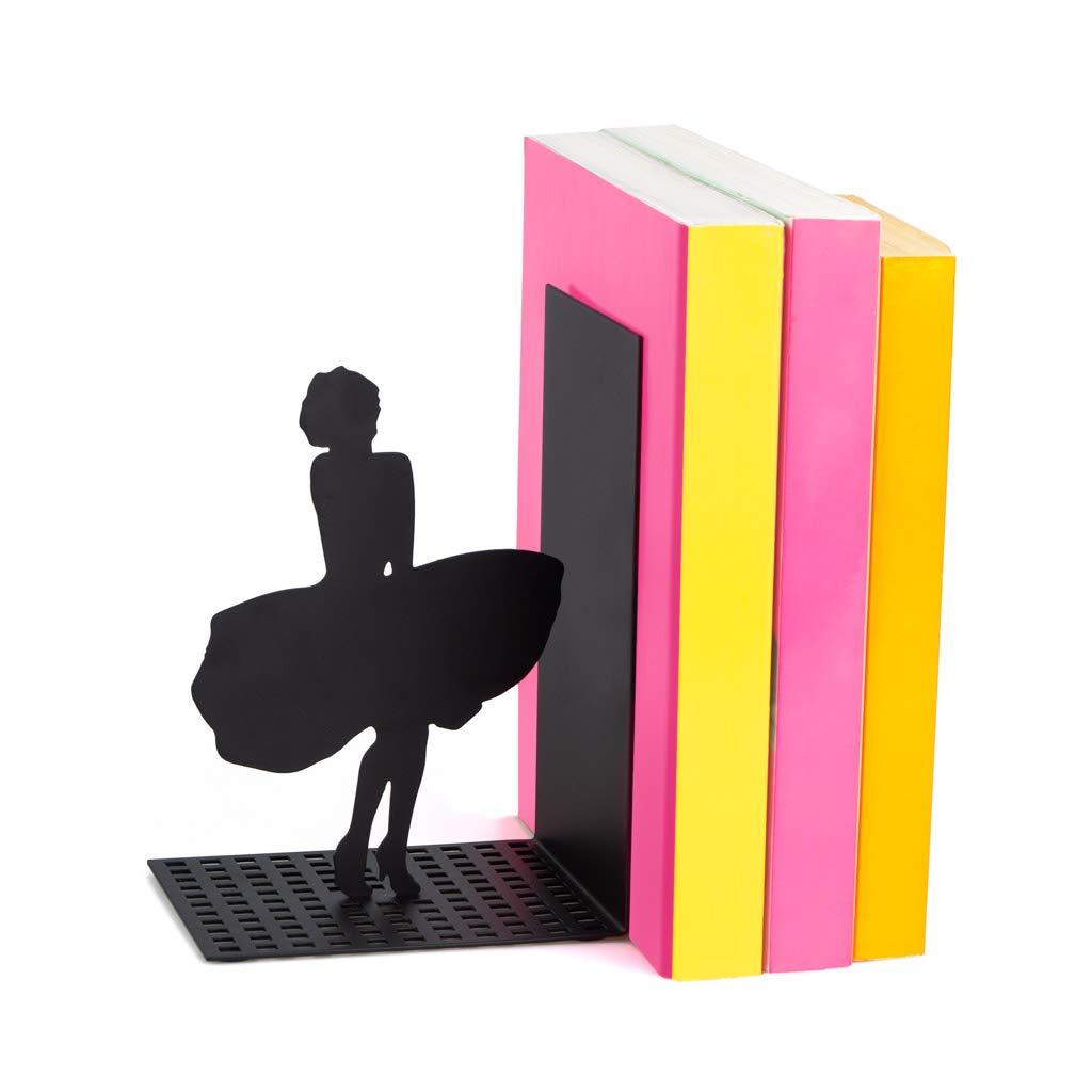 Balvi/-/Marilyn/Serre-Livres/d/écoratifs/en/m/étal/de/Couleur/Noire./Design/Original
