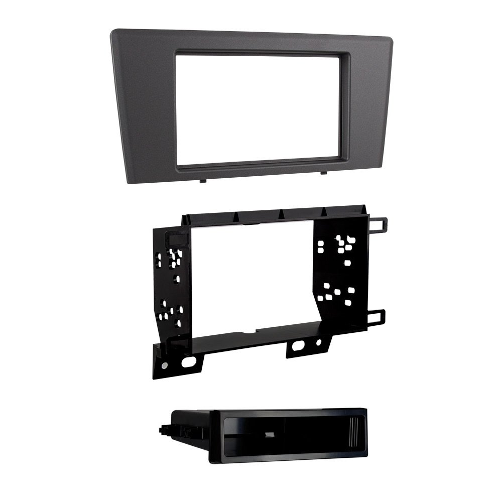 Metra 99-9229G Single/Double DIN Dash Kit for 2001 - 2004 Volvo S60/V70 (Gray) by Metra
