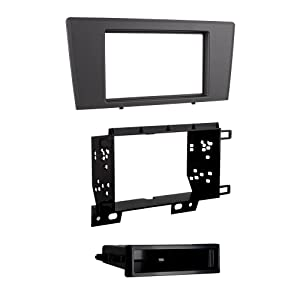Metra 99-9229G Single/Double DIN Dash Kit for 2001 - 2004 Volvo S60/V70 (Gray)