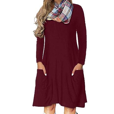 new style 34b46 2a5a3 Donna Vestiti Chiffon Invernali Corti Eleganti da Cerimonia ...