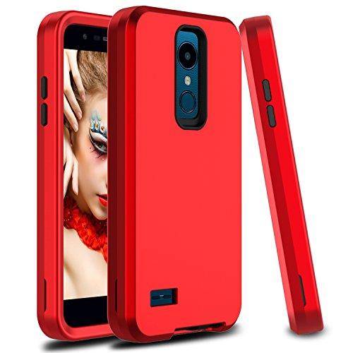 LG K10 2018 Case, LG K30 Case, LG Xpression Plus Case, Venoro Hybrid Protective Case Armor Anti-Scratch Shockproof Cover Ultra Fit for LG K10+ 2018 / LG K10α 2018 / - Lg Xpression Cover