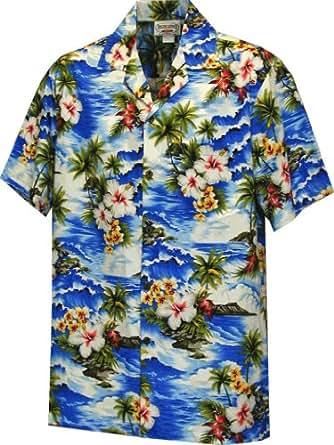 Amazon.com: Paradise Hibiscus Boys Hawaiian Shirts