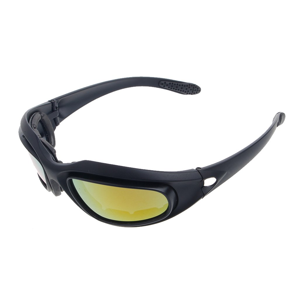 Windproof Polarized Motorcycle Lens Sunglasses Riding Cycling Biker Sports Wrap