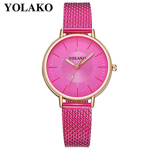 The Best Gift!!Aries Esther Fashion Luxury New Casual Quartz Leather Band Strap Watch Analog Wrist Watch