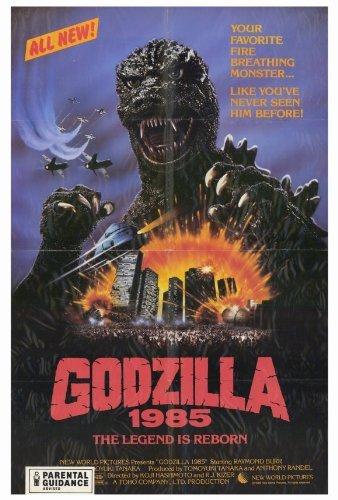 Godzilla 1985 POSTER Movie (27 x 40 Inches - 69cm x 102cm) (1985)