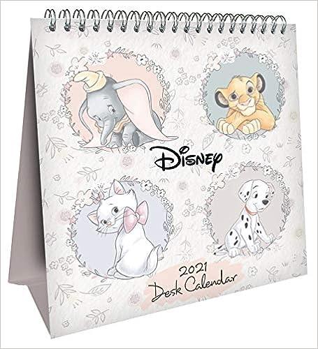 Book's Cover of Disney Heritage 2021 Desk Easel Calendar - Official Desk Easel Format Calendar (Inglés) Calendario – Calendario de escritorio, 1 octubre 2020