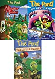 Life at the Pond 3-Pack DVD Bundle - Teach Your Kids Biblical Values, Virtues, and Character: Loving Your Enemies, Love Thy Neighbor, Trust and Responsibility