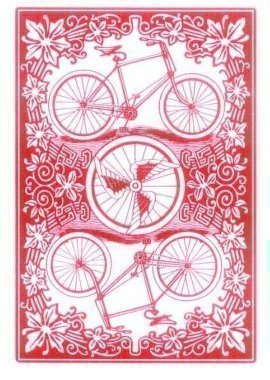 Red Bicycle League Back Playing Cards - International Edition by USPCC by USPCC by USPCC