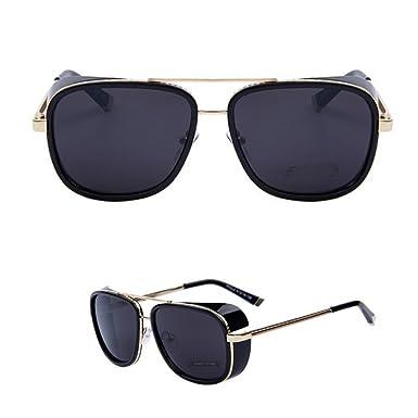 ac5a4f2da35fc 2015 Iron MAN 3 Matsuda Ray Steampunk Sunglasses Men Mirrored Designer  Brand Vintage Sports Glasses (