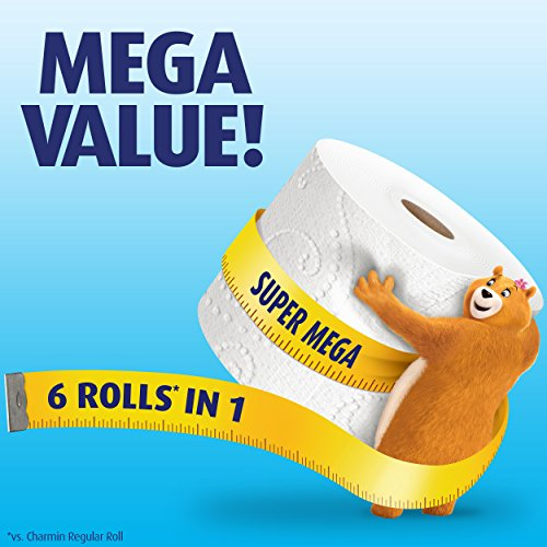 Charmin Toilet Paper On Sale: Charmin Super Mega Roll Ultra Soft Toilet Paper, 18 Count