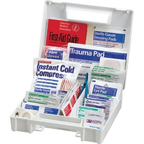 First Aid Only First Aid Kit FAO-132 Plastic Case 131 Piece