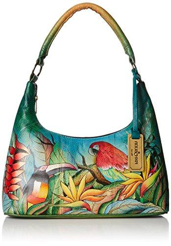 Anuschka Medium Top Zip Evening Bag