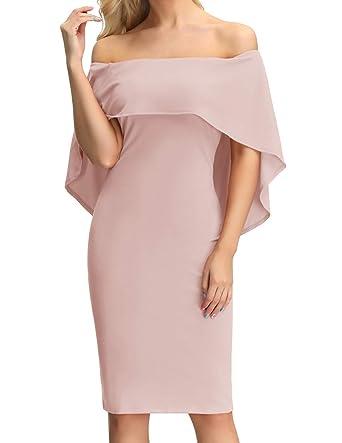 c0368b40e2 Amazon.com: GRACE KARIN Women's Off Shoulder Cocktail Party Dresses ...
