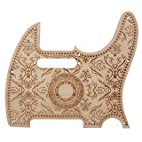 Surfing Maple Single coil pickup Pickguard Wood Color for TL Electric Guitar