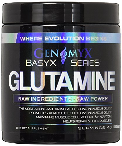 Genomyx Glutamine with 40 Servings, Unflavored Review