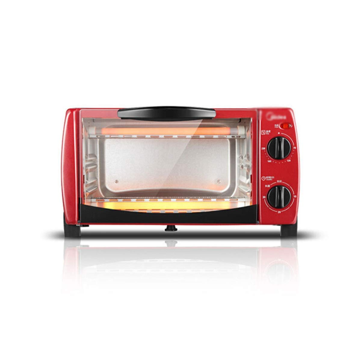 ZCYX Oven Mini Multi-function Double Bake Place Up And Down Independent Heating Oven - toastation