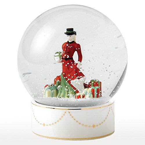 Royal Doulton Christmas Gifts Snow Globe HN -