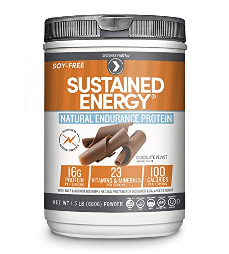 Designer Protein Sustained Energy Natural Endurance Protein,