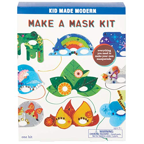 Kid Made Modern Make a Mask Kit for Kids - Arts & Crafts Projects | DIY -