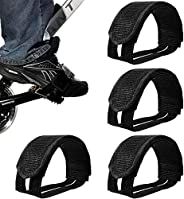 2 Pairs Bike Pedal Straps Pedal Straps Bicycle Feet Strap Pedal Toe Clips Straps Tape Bicycle Strap Fixed Bike