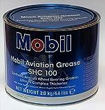 Mobil - SHC 100 Synthetic Aviation Grease, 4.4lb SHC100AVI4-4L