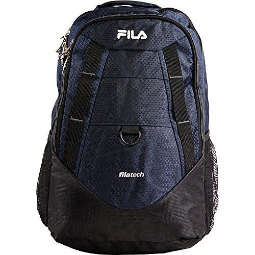 Fila Spike Laptop Backpack, NAVY/GREY, One Size